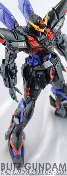 GUNDAM GUY: MG 1/100 Blitz Gundam - Customized Build