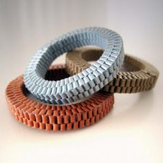 Frucci's jewelry crafted from paper The Rag & Bone Blog » Paper Art