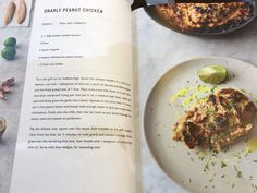 Gnarly peanut chicken - Jamie Oliver, 5 ingredients