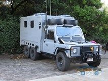 LR 6x6 Defender Perentie converted to awesome Camper              6x6 in the world     by: www.01a-teamservice.com