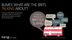 You're not the only one who's searched what British slang means. Use Bing to translate the Brits now: http://binged.it/Ngcji0
