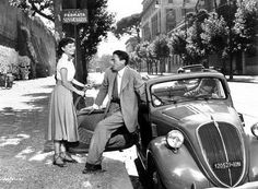 1948 Fiat Topolino / Roman Holiday
