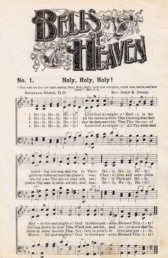 Antique Hymn Printable Music - Brighten the Corner Where ...