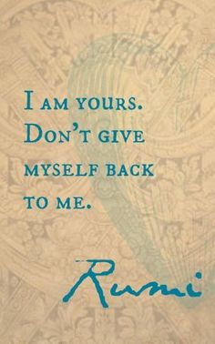 Explore inspirational, rare and mystical Rumi quotes. Here are the 100 greatest Rumi quotations on love, transformation, existence and the universe. Rumi Love Quotes, Sufi Quotes, Me Quotes, Motivational Quotes, Inspirational Quotes, Rumi Poetry, Beautiful Words, Peace And Love, Wise Words