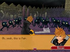 Roxas... what if one of them was his heartless...?