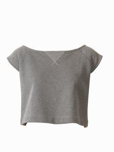 Burdastyle - Sweatshirt Crop Top 01/2011 #120B