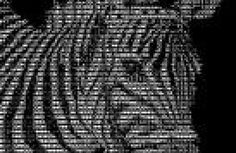 You've no doubt seen images made of text characters. Some ASCII art is stunning and complex. How do people make ASCII art? Ascii Art, Hair, Strengthen Hair