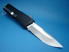 8  Lightning OTF Automatic Serrated with Black Handle u0026 Silver Button & Lightning Automatic OTF Knife Double Action - Black $30.00 ... azcodes.com