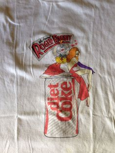 Roger and Jessica Rabbit Diet Coke T-shirt