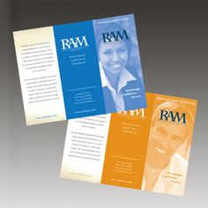 Sales brochures created for RAM Law of New Brunswick, NJ produced by Galvanek & Wahl Advertising Agency