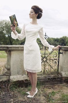 kitty and dulcie short wedding dresses lady penelope