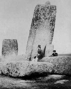 How They Rebuilt Stonehenge 50 years ago - Google Search