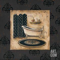 Bath Time I Print by Gregory Gorham at eu.art.com