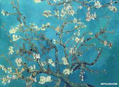 My favorite Van Gogh- Almond Blossom Tree