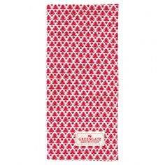 GreenGate Autumn/Winter 2014 Teatowel Tree White 50 x 70 cm