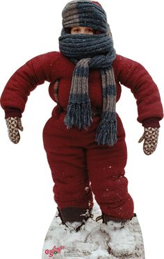 """Randy """"I can't put my arms down"""" - A Christmas Story Cardboard Stand-Up"""