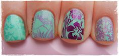 A Girl and Her Polish: Summer Challenge: Day 63 - Hothouse Flowers