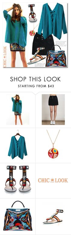 """""""Vibrant"""" by andrea2andare ❤ liked on Polyvore featuring Fendi"""