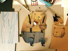 bear illustration / felicita sala illustration