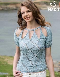 KM-064 Lady Bluz / / Kadın / MODELLER / Nako