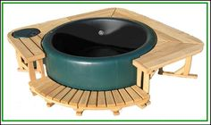 Ideen, Garten, Deko & basteln Surround Deck Nanotechnology Offers Insulating Benefits A growing numb Hot Tub Gazebo, Hot Tub Deck, Hot Tub Backyard, Hot Tub Garden, Hot Tub Patio On A Budget, Piscina Diy, Piscina Intex, Jacuzzi Pool, Pool Bad