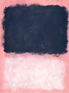 Mark Rothko, Untitled (Grey and White on Purple), 1967.