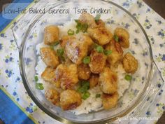 Dessert Now, Dinner Later!: Low-Fat Baked General Tso's Chicken