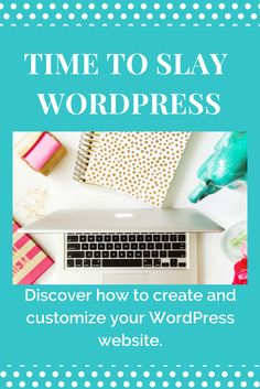 Discover how to create and customize your WordPress website, setup your email campaigns and so much more!