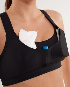 The sports bra that holds money/ keys/ chapstick.  What DOESN'T Lululemon think of?!