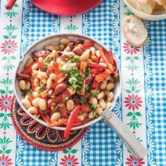 Het recept van de dag is: Spaanse bonenschotel met chorizo!