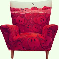 This Cherry Cartoon Chair | 11 Not Normal Ways To Decorate Your Home That You Should Try Out