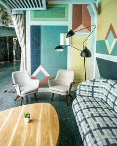 la-la land [ color crushing at Hotel Avalon in Beverly Hills photo by @zioandsons