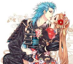 Grimmjow and Orihime