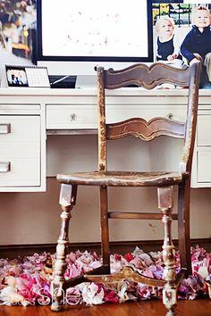 Craigslist desk redo | How Does She...