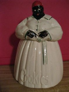 Americana Vintage McCoy Mammy Cookie Jar for Dave M.