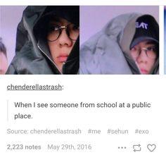 Relatable AF! #Sehun #EXO #EXO-K