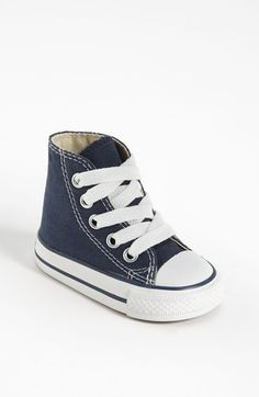 Free shipping and returns on Converse All Star® High Top Sneaker (Baby, Walker & Toddler) at Nordstrom.com. Even little ones need their own 'Chucks.' The classic Chuck Taylor® All Star® was first designed in 1917 as a performance basketball shoe, but today Chucks come in all shapes, colors and sizes.<br>
