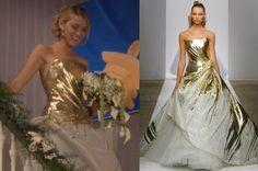 Serena's weeding dress is a designer gown