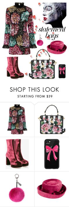 """"""">)("""" by carlina-tof ❤ liked on Polyvore featuring Millie Mackintosh, Dolce&Gabbana, Miu Miu, Casetify, Helen Moore, Givenchy and statementbags"""