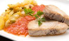 #LARECETA · Bonito con tomate y patatas | #GASTRONOMÍA por @karguinano