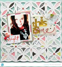 Filling An Intricate Shape Tutorial by Nicole Nowosad Silhouette Blog, Silhouette Cameo Tutorials, Silhouette America, Silhouette Machine, Silhouette Projects, Silhouette Design, Scrapbooking Digital, Scrapbooking Layouts, Scrapbook Pages
