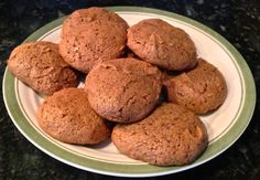 I adapted my favorite cookie recipe because I started the Atkins diet. They were pretty good. I liked the original recipe because it is so simple and easy and everyone loves them.
