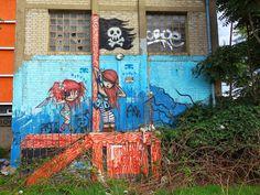 Sunday Street Art : Stoul et Miette - Gare au Théâtre - Vitry-sur-Seine   ParisianShoeGals