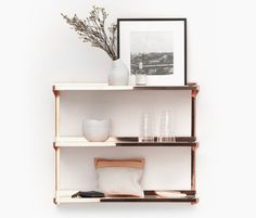 Copper Shelves | 22 Stunning Copper Items You Need In Your House