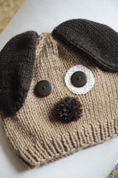 Gorro infantil - cão