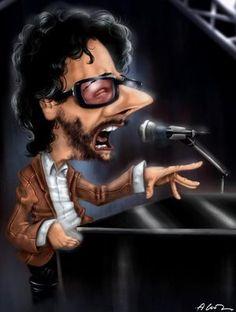 Fito Paez  by Caricaturas de Musicos/Cantantes - Taringa!