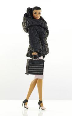 prepare for (FR2 body) set inc.: coat, top, skirt, bag, shoes.