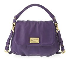 Marc by Marc Jacobs Classic Q Lil Ukita in Pansy Purple