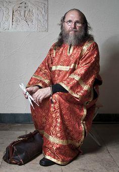 Ivan Zhuk. Altar man, Professor S. Kazakov
