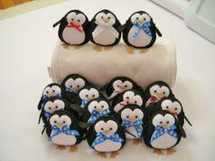 SterlingWinterset: Felt penguins & Scottie dog pillows